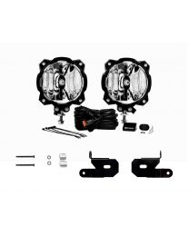 KC Hilites - KC 2018-2019 Jeep JL A-Pillar Gravity LED Pro6 Spot Beam Light Kit - #97111 - 97111
