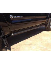N-FAB - Rkr Rock Rails Cab Length; Textured Black; - T054RKRCC