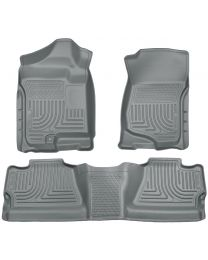 Husky Liners - Front & 2nd Seat Floor Liners (Footwell Coverage) - 98202