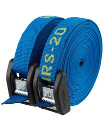 NRS - 1in. Heavy Duty Buckle Bumper Cam Strap - 20ft.