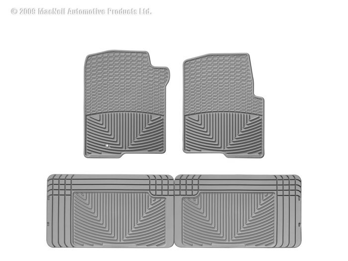 Gray PantsSaver Custom Fit Car Mat 4PC 0807002